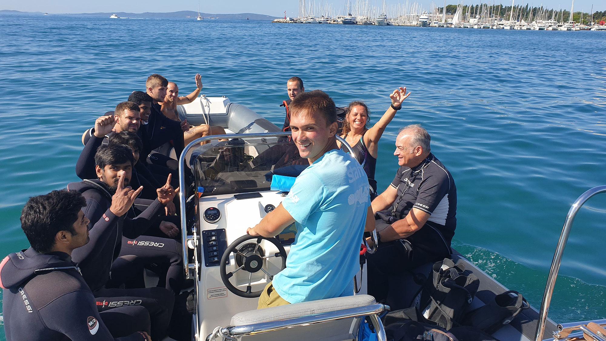 Become Divemaster - Scuba Diving Split
