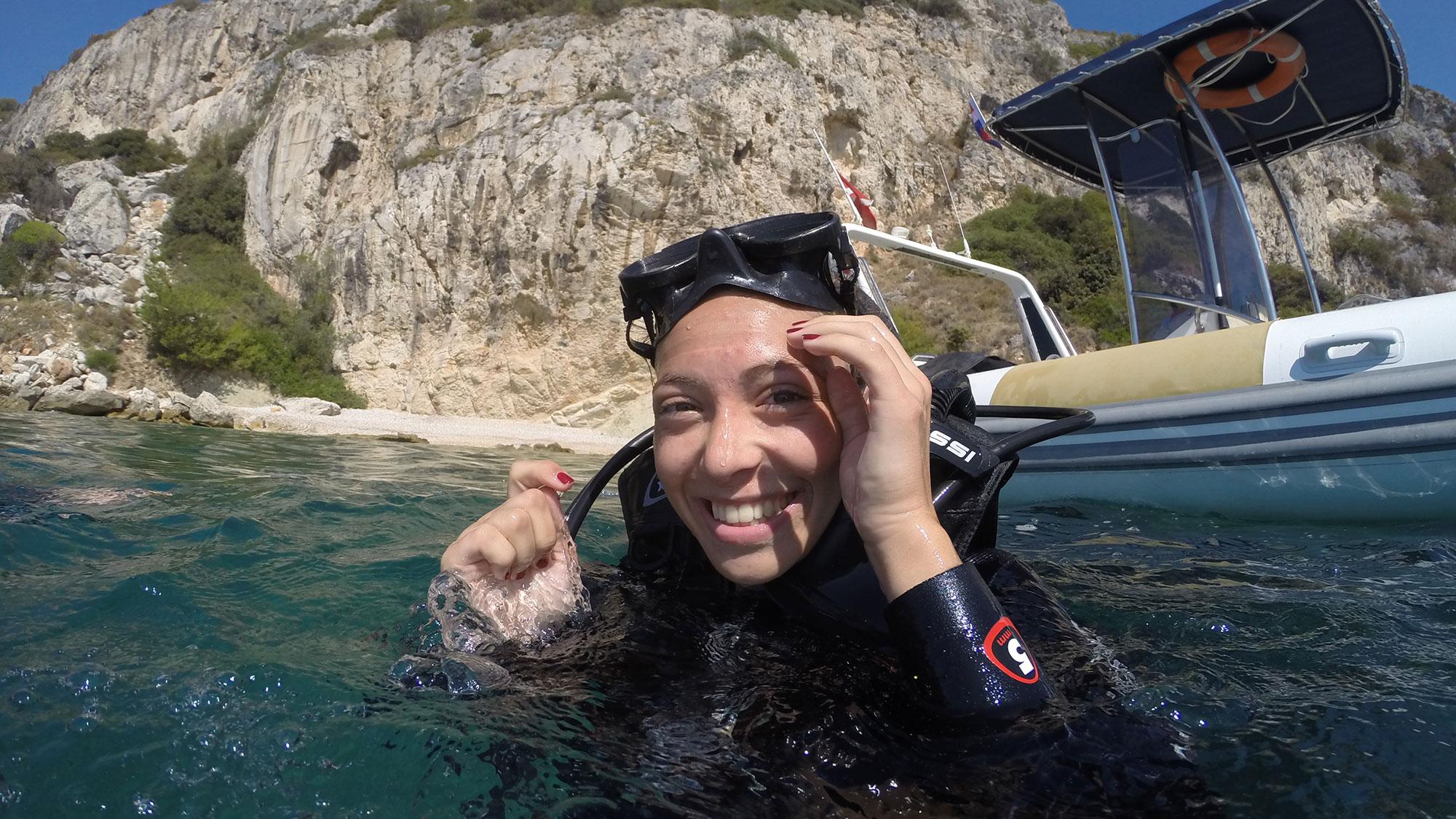 PADI scuba dive in Split